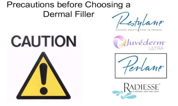 Precautions before Choosing a Dermal Filler